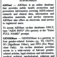AEGIS (AIDS Education General Information System)